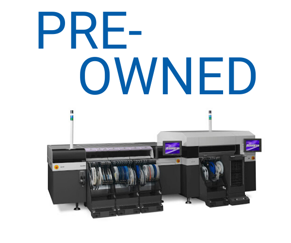 Pre-Owned SMT machines